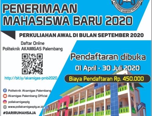 Info pendidikan : Pendaftaran secara online Mahasiswa Baru AKAMIGAS Politeknik Palembang